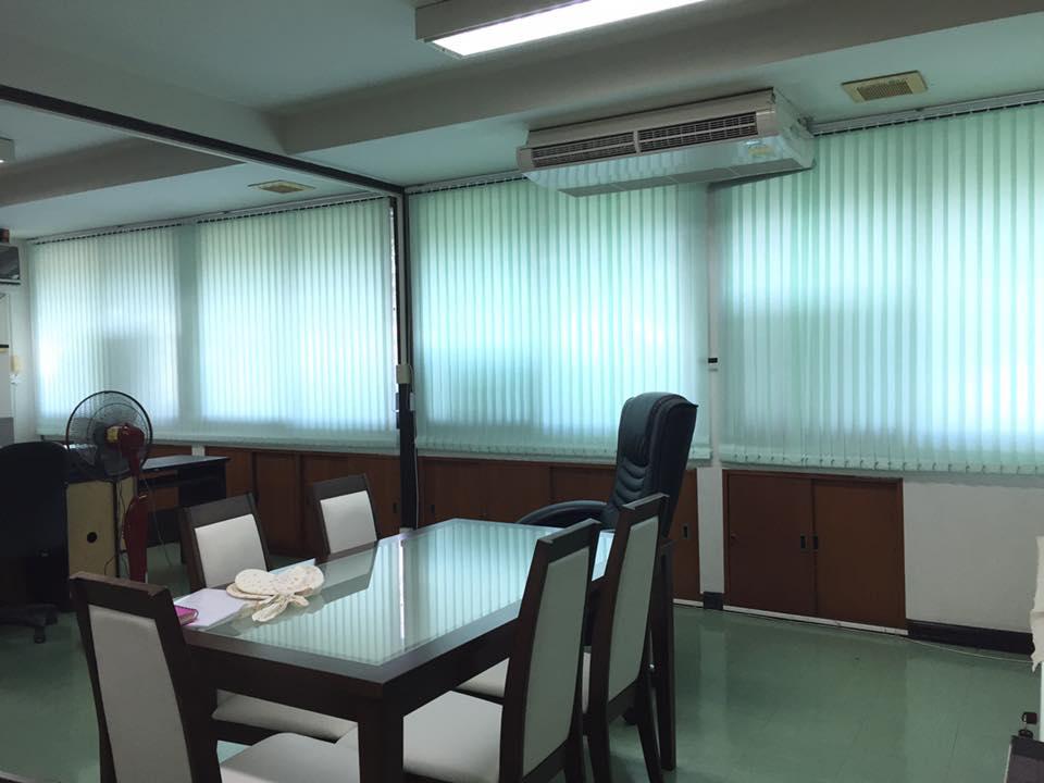ติดตั้งม่านปรับแสง สำนักงานปลัดกระทรวงสาธารณสุข